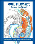 More Mermaids Around the World coloring book